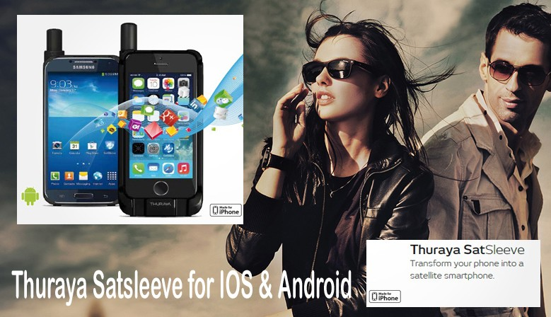 Thuraya Satsleeve Ios & android