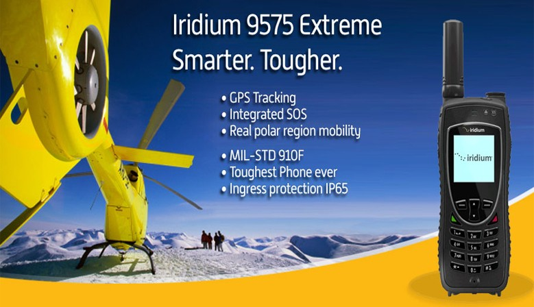 Iridium 9575 Extreme satellite phones
